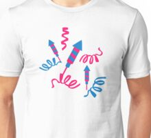 Fireworks rocket Unisex T-Shirt