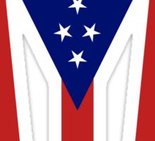 The Ohio Burgee Sticker