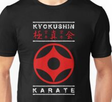 Kyokushin Karate (white text) Unisex T-Shirt