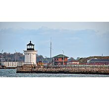 Portland Breakwater Lighthouse Photographic Print