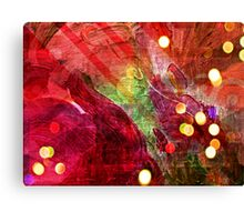 Friday night at the club Canvas Print