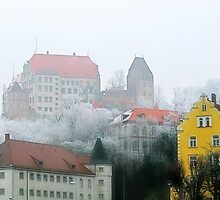 The old town of Landshut in Bavaria, Germany by Christine Till  @    CT-Graphics