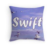 Taylor Swift Seagulls Throw Pillow