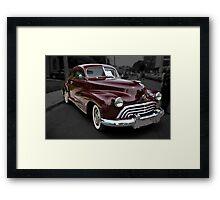 1948 Oldsmobile Sport Coupe Framed Print
