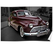 1948 Oldsmobile Sport Coupe Poster