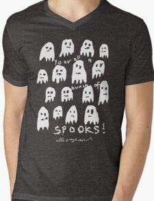 'Bunch of Spooks' Mens V-Neck T-Shirt