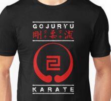 Gojuryu Karate (white text) Unisex T-Shirt