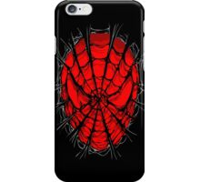 Web face ripped torn tee iPhone Case/Skin
