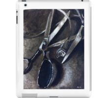 Wires and Scissors  iPad Case/Skin