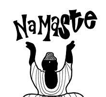 """""""Namaste"""" Buddha by alexavec"""