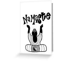"""Namaste"" Buddha Greeting Card"