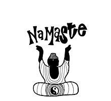 """Namaste"" Buddha Photographic Print"