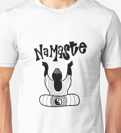 """""""Namaste"""" Buddha Unisex T-Shirt"""