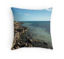 Cape range Western Australia Throw Pillow