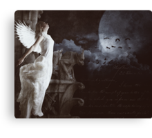 Calling All Angels... Canvas Print