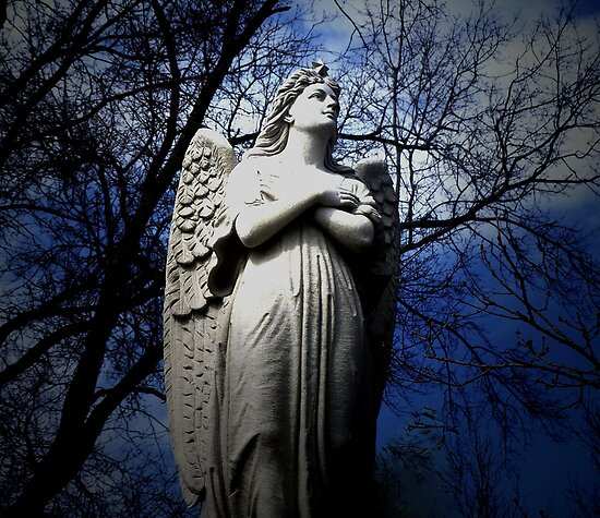 Poem by Sally Omar - Angel, Cross my Heart by Judi Taylor