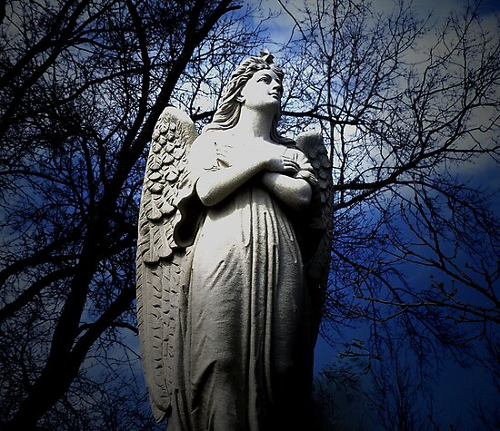 Poem by Sally Omar - Angel, Cross my Heart by Judi Taylor