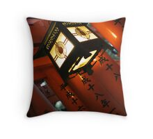 Fushimi Lantern Throw Pillow
