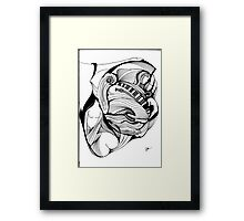 Abstract Moments. Framed Print