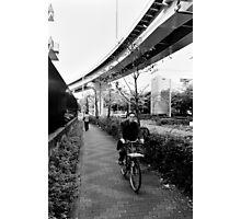 Peoples' transport - Tokyo, Japan Photographic Print