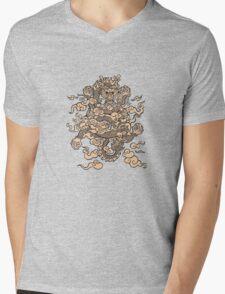 Lucky Dragon 2 Mens V-Neck T-Shirt