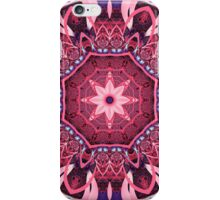 Kaleidoscope in Pink, Purple and Blue iPhone Case/Skin