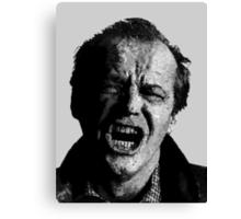 One Flew over Jack Nicholson's Nest - Digital Sketch  Canvas Print