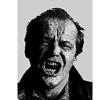 One Flew over Jack Nicholson's Nest - Digital Sketch  Photographic Print