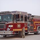 Buehring Fire Truck by Edwin Vaughn