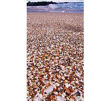 Glass Sand Beach Photographic Print