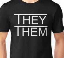 They/Them Unisex T-Shirt