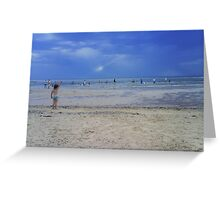 forty degrees at rickets point Greeting Card