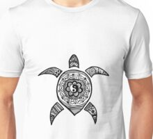 Hippie Sea Turtle Unisex T-Shirt