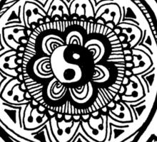 Hippie Sea Turtle Sticker