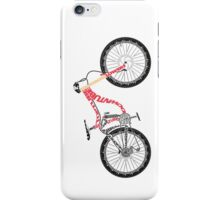 Typographical Anatomy of a Down Hill Bike iPhone Case/Skin