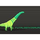 Pixel Futalognkosaurus by David Orr