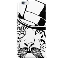 Dapper Tiger iPhone Case/Skin