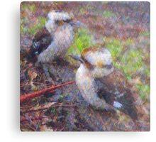 The Baby Kookaburras Metal Print