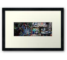 Off Hosier Framed Print