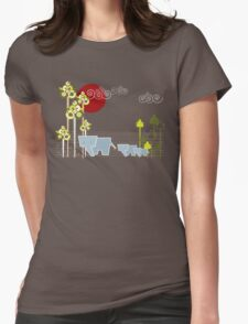 Ellephant Family In The Forest T-Shirt