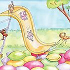 Baby Animal Slide by shanmclean