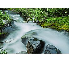 Rushing Waters of Paradise River Photographic Print