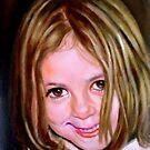 portrait of a girl by Hidemi Tada
