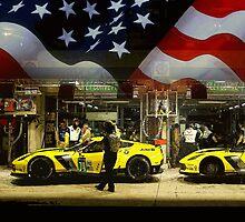 Corvette Racing C7R - American Flag by iLoveV8s