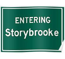 Entering Storybrooke Poster