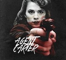 Agent Carter Marvel by djcc