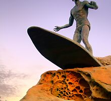 Duke Kahanamoku Monument - Freshwater Headland , Sydney Australia by Philip Johnson