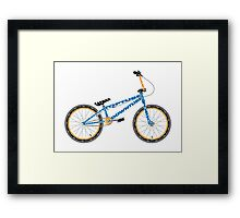 Anatomy of a BMX Bike Framed Print