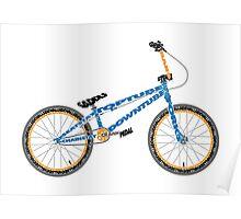 Anatomy of a BMX Bike Poster