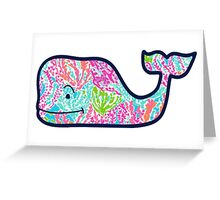 Vineyard Vines and Lilly Pulitzer Greeting Card